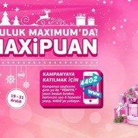 Yeni yıl alışverişlerinize 100 TL MaxiPuan