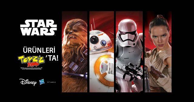 Star Wars Ürünleri 7,99 TL'den Başlayan Fiyatlarla Toyzz Shop'ta!