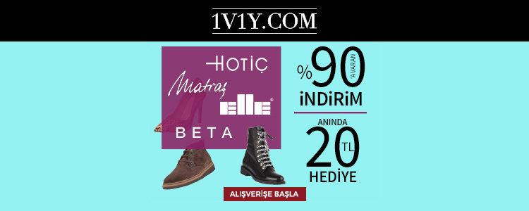 1V1Y Ayakkabı Festivali Başladı!