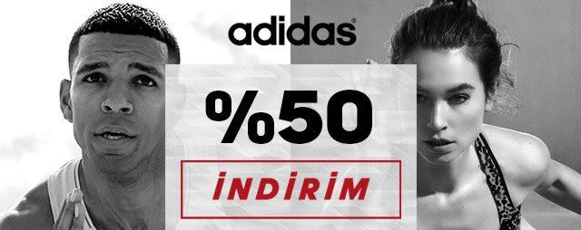 Adidas'ta 50 Saat Boyunca %50 İndirim