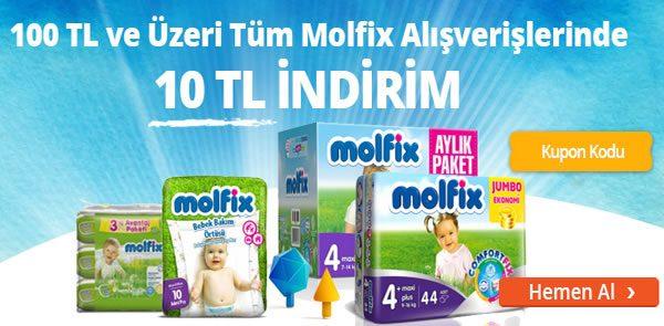 Molfix Ürünlerinde Geçerli 10 TL Annelutfen İndirim Kuponu