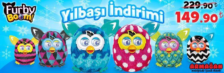 Furby Boom'da Yılbaşına Özel İndirim