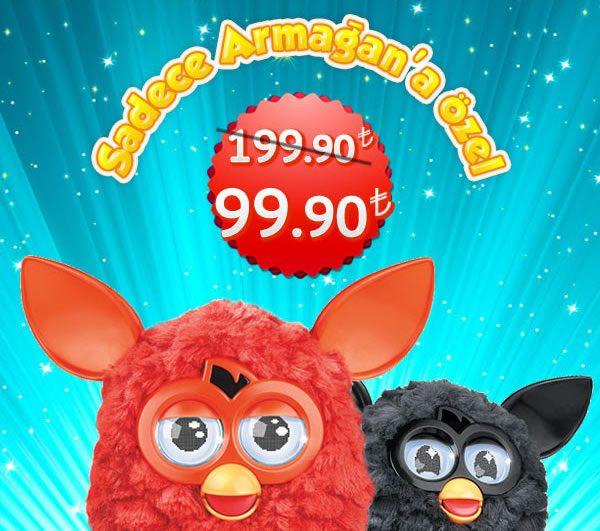 Furby'de İnanması Güç İndirim: 99,90 TL