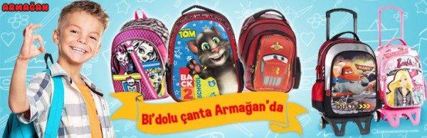 Okul Çantaları Armağan Oyuncak'ta