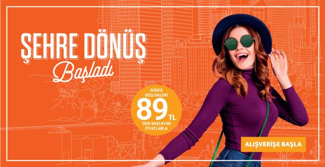 Dünyaca Ünlü Markaların Güneş Gözlükleri 89 TL'den Başlayan Fiyatlarla!