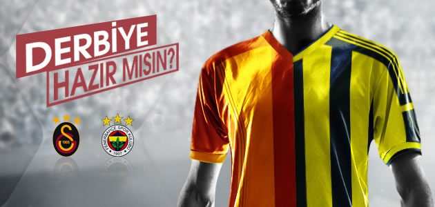 Galatasaray - Fenerbahçe Derbisine Özel İndirimler