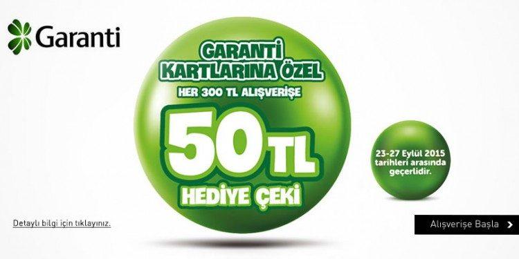 50 TL YKM Hediye Çeki