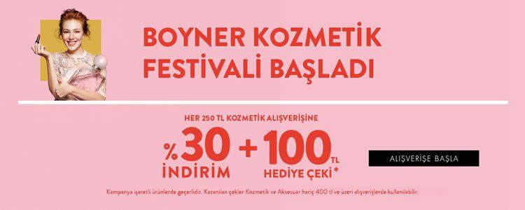 Boyner Kozmetik Festivali