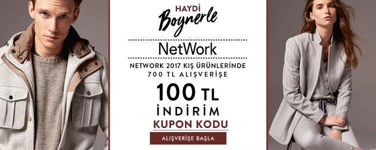 100 TL Boyner İndirim Kuponu [Network Yeni Sezon]