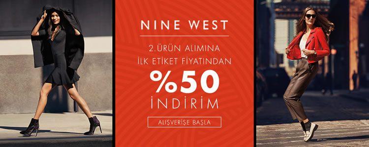Nine West İndirimi: Etiketin Yarısı!