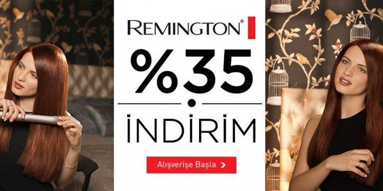 Remington Ürünlerinde %35 İndirim
