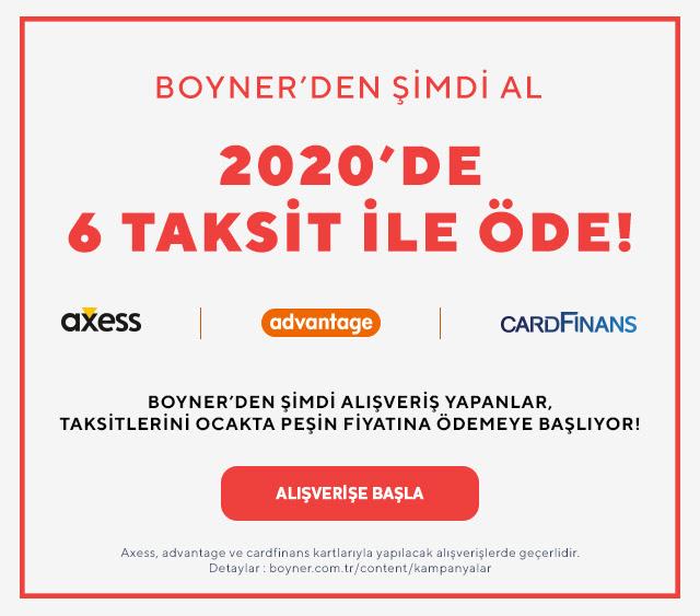 Boyner'den Şimdi Al, 2020'de 6 Taksit ile Öde!