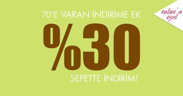 Brandroom'da %70 + %30 ekstra İndirim!