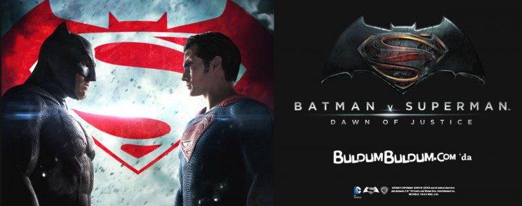 Batman v Superman Lisanslı Ürünleri 5 TL'den Başlayan Fiyatlarla