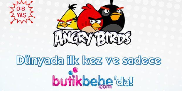 Angry Birds Çocuk ve Bebek Koleksiyonları Butikbebe'de