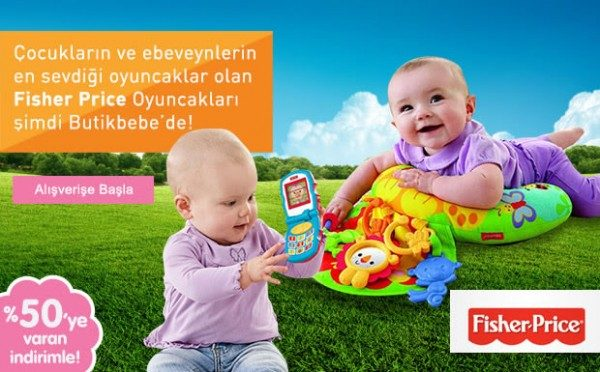 %50 Fisher Price İndirimi Butikbebe'de