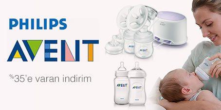 Philips Avent Ürünlerinde %35 İndirim