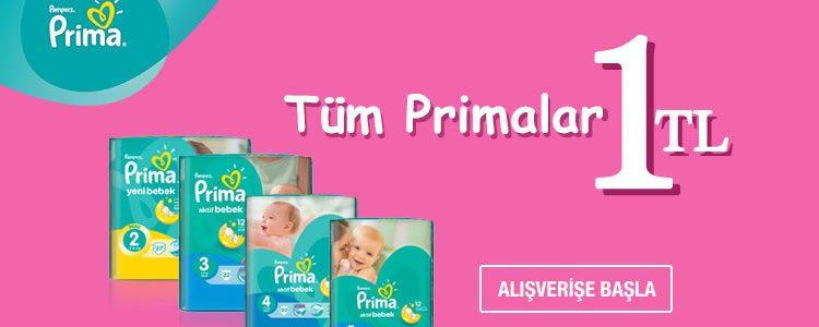 Tüm Prima Ürünleri 1 TL!