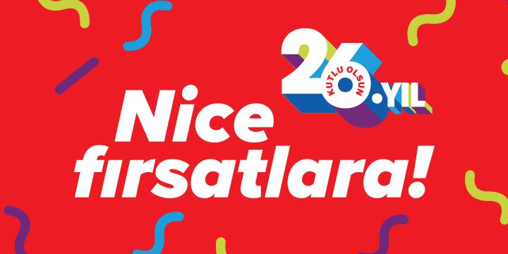 Carrefoursa'da 26.Yıl İndirimi!