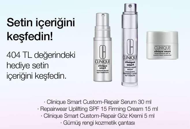 Clinique Smart Serum Set Hediye!