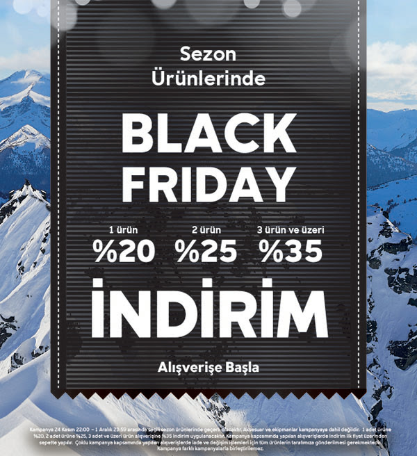 Columbia'da Black Friday İndirimi!