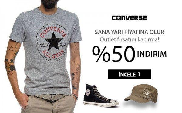%50 Converse İndirimi