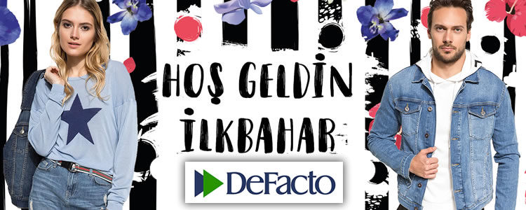 DeFacto'da Yeni Sezon!