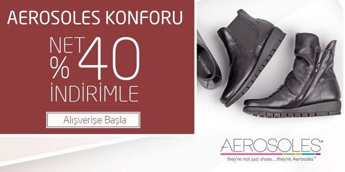 %40 Aerosoles İndirim Kampanyası