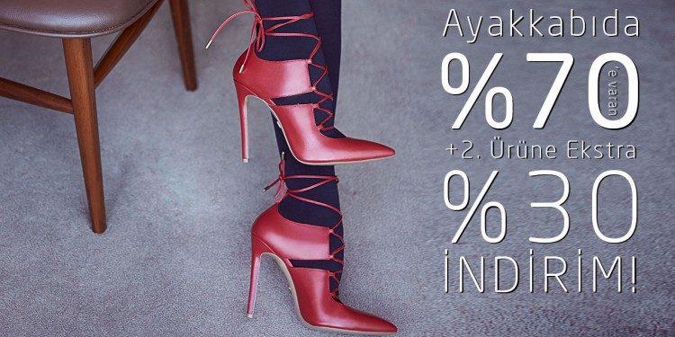 Desa Ayakkabılarda %70 + İkinciye %30 Ekstra İndirim