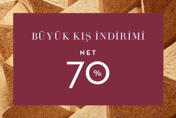 Net %70 Büyük Kış İndirimi