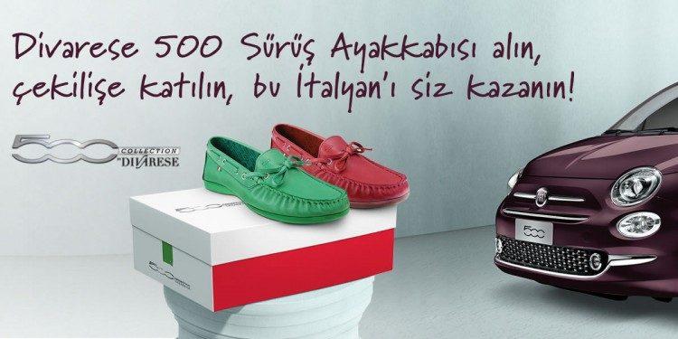 Divarese 500 Collection Ayakkabı Alanlar Fiat 500 Kazanıyor!
