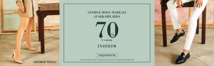 George Hogg'da %70'e Varan İndirimler!