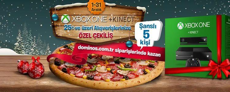Domino's Pizza Siparişiniz Xbox One + Kinect Kazandırıyor