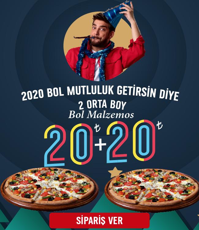 2020'ye Özel Fırsat! 2 Orta Boy Bol Malzemos 20+20 TL