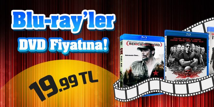 Blu-ray Filmler D&R İndirimiyle DVD Fiyatına: 19,99 TL!