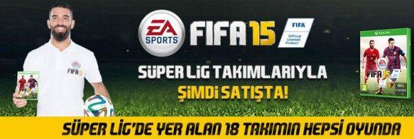 Süper Lig Takımlarıyla FIFA15 D&R'da