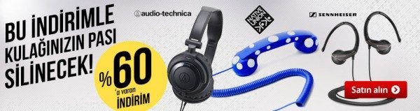 Sennheiser, Audio-Technica, Native Union Kulaklıklarda %60'a Varan İndirim