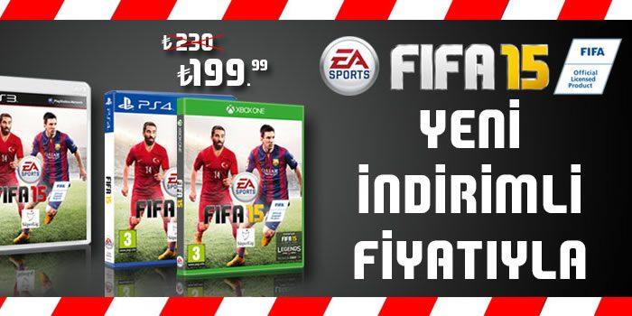 FIFA 15 İndirimli Fiyatıyla D&R'da