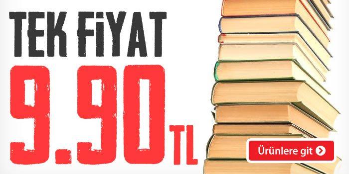 Yüzlerce Kitapta Tek Fiyat: 9,90 TL!