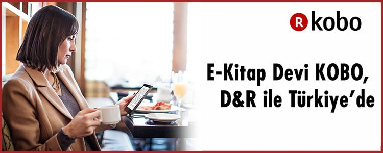 E-kitap Devi Kobo Türkiye'de!