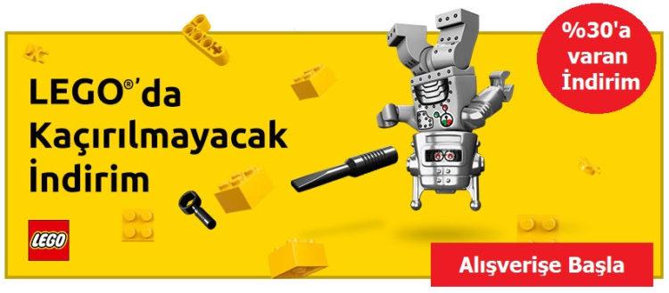 %30 Lego İndirimi!