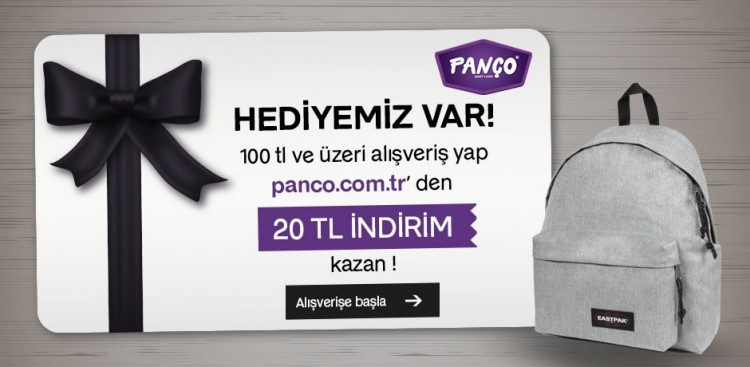 Eastpak Alışverişi 20 TL Panço İndirim Kuponu Kazandırıyor
