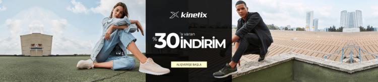 Kinetix Sepette %30'a Varan İndirim!