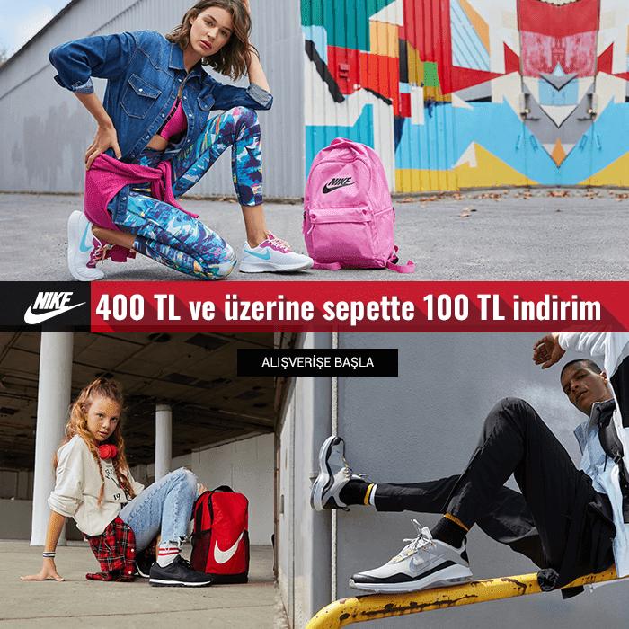 Flo'da Nike Ürünlerinde 100 TL İndirim!