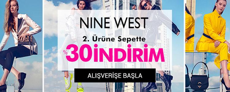 Nine West 2. Ürün Sepette %30 İndirimli