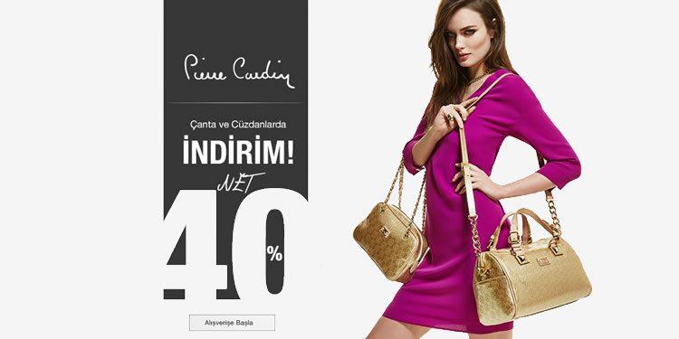 %40 Pierre Cardin İndirim Kampanyası