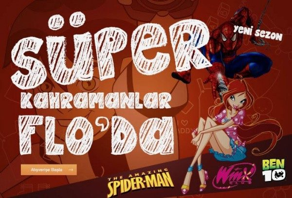 Spiderman, Ben10 ve Winx Lisanslı Çocuk Ayakkabılarında %67'ye Varan İndirim