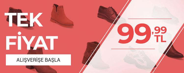 Flo'da Tek Fiyat 99.99 TL!