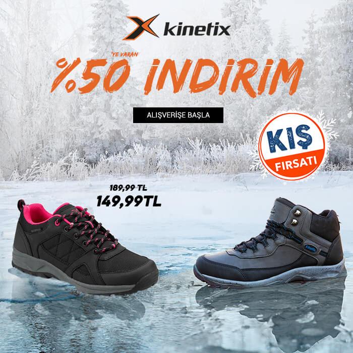 Kinetix Sepette %50'ye Varan İndirim!