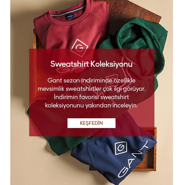 Sweatshirtlerde  Net %30 İndirim